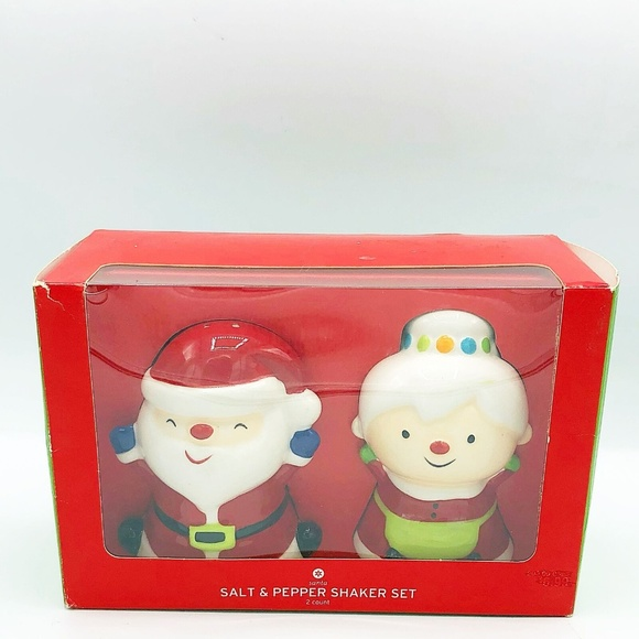 Target Other - Santa and Mrs Claus Salt and Pepper Shakers Target